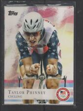 TAYLOR PHINNEY - 2012 OLYMPICS CYCLING -  TOPPS #71
