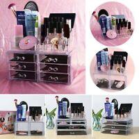 Box Cosmetic Tools Holder Makeup Case Jewelry Organizer Drawer Storage