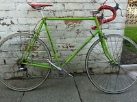 VINTAGE REYNOLDS 531 CLAUDE BUTLER road race bicycle