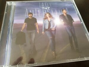 747 by Lady Antebellum (CD, Sep-2014, Decca)
