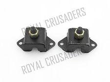 NEW WILLYS FORD JEEP MB GPW M38 M38A1 CJ2A CJ3A CJ3B ENGINE MOUNTS NUT SET
