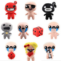 The Binding of Isaac With Cat Steven Rebirth Afterbirth Steam Plush Figures Doll