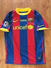 Messi Barcelona Vs Manchester United soccer jersey Champions 2011 Final shirt