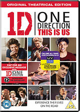 ONE DIRECTION - THIS IS US - DVD - REGION 2 UK