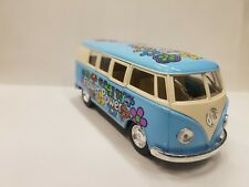 vw Volkswagen Classical Bus 1962 blue kinsmart TOY model 1/32 scale diecast Car