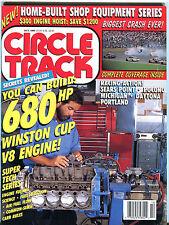 Circle Track Magazine October 1990 680HP Winston Cup V8 Engine EX 012216jhe