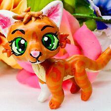 Littlest Pet Shop, Firestar Warriors Cat, Ooak Lps Custom Hand Painted