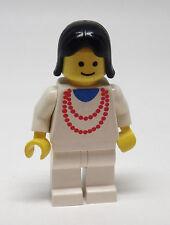 Lego Frau Perlenkette Harre schwarz Figur Minifigur 9364 9702 1490 1472