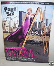#8792 New York Post Page Six Magazine September 21, 2008 Candace Bushnell
