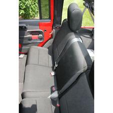 Jeep Wrangler Jk 07-17 Black Rear Seat Cover 4 Door  X 13264.01