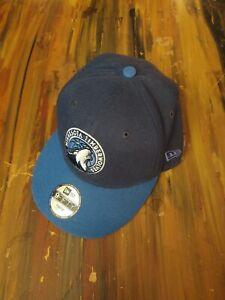 Minnesota Timberwolves Adjustable Hat New Era Youth Snapback Baseball Cap Poly