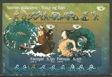 Faroe Is 2004 Nordic Mythology ss--Attractive Art/Folklore Topical (443) MNH