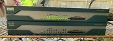 Set of Two Cisco System 1800 Series 1811 V07 V08 & 64Mb MEMORY SERVICE Router
