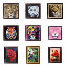 UK 5D Diamond Painting Embroidery Flower Animals Cross Crafts Stitch Kit Decor