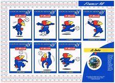 T2855 - FRANCE - Timbres Autoadhésifs N° 17 A Neuf** Mascotte coupe du Monde 98