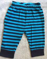 BQT Black/blue Striped Leggings 00 EUC+.  = $5 Post