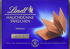 Lindt Ultra Thin Swiss Premium Chocolates Milk Chocolate 125g