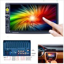 "7"" Double 2 Din HD 1080P Vehicles Bluetooth MP5 Player GPS Navigation AM/FM RDS"