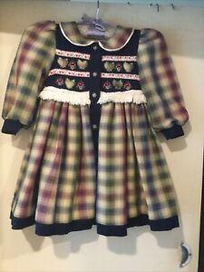 Vintage Pretty Originals Winter Dress (coat?)  Age 3