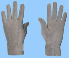 NEW MENS size 9.5 or XL GENUINE GREY SUEDE LEATHER GLOVES with CASHMERE LINING