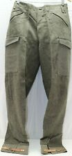 Wwii Swedish Grey Trousers pants w ankle tabs 32.5in W x 32.5in L M7043