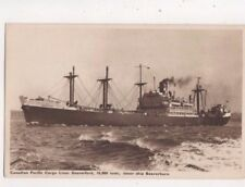 Canadian Pacific Liner Beaverford Vintage Postcard Shipping US073