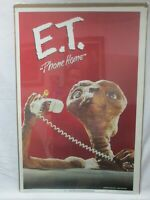 E.T. EXTRATERRESTRIAL MOVIE CHARACTER VINTAGE POSTER GARAGE 1982 CNG489