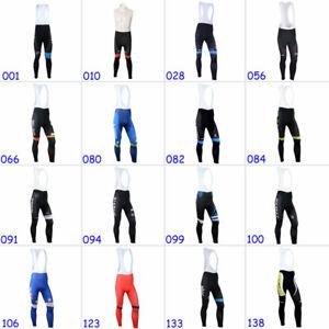 2021 Cycling Bib Pants Men's Outdoor Riding Bike Gel Pad Windproof Long Tights