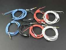 3.5mm 3-Pole Jack DIY Earphone Headphone Audio Cable Repair Replacement CordWire