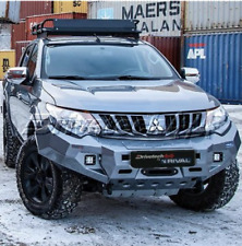 RIVAL BUMPER TO SUIT MITSUBISHI TRITON MQ  (WITH LED TECH PACK ) DT-2D40011B