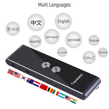 Real-Time Smart Pocket Travel Language Translator Multi Speech/Text Translatio
