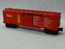 BEATLES LIONEL / RGS RED #1 ALBUM TRAIN  CAR / VERY RARE / RED BOXCAR