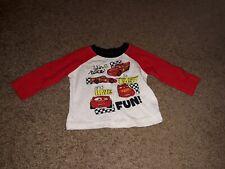 Disney Baby Cars 3-6 Months Boy's Long Sleeve Shirt
