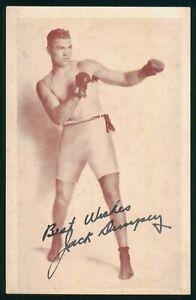 Mayfairstamps Sports PC Jack Dempsey Boxing Postcard wwo93841