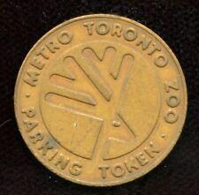 Metro Toronto Zoo Parking Token Ontario Canada ON 3900-A