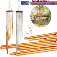 """11"""" Wind Chimes Aluminum Tubes Hanging Ornament Home Outdoor Garden Yard Decor"""