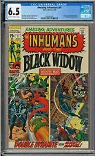 Amazing Adventures #1 CGC 6.5 Jack Kirby John Romita Inhumans Black Widow FF4