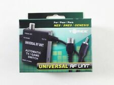 New Universal Rf Adapter Nintendo NES SNES Genesis N64 Tv Cable Switch