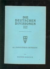 Die Deutschen Divisionen 1939-1945  61.Infanterie-Division