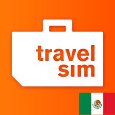 Prepaid TravelSim Welt Daten Sim-Karte für Mexiko + 1 GB Daten für 30 Tage