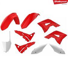 kit plastiche restyling kit honda cr 125 02/07 cr 250 02/07 rosso/bianco (oem) P