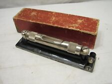 "Starrett 98 6"" Machinist's Precision Level Tool w/Box Double Plumb & Cross Vial"