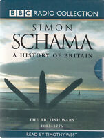 Simon Schama A History Of Britain 6 Cassette Audio Book British Wars 1603 - 1776