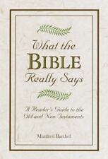 What the Bible Really Says, Manfred Barthel, 0517460025, Book, Good