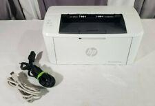 HP LaserJet Pro M15w Wireless Monochrome Laser Printer - (W2G51A) - USB & Power