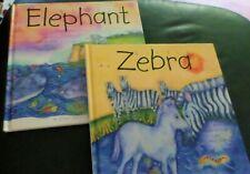 LITTLE ZEBRA & LITTLE ELEPHANT- Kids Questions 2007 S. African edition 1st/1st