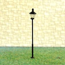 5 x HO OO Gauge Model Train Lamps Railway Lamp posts Led Street Lights #Y0108