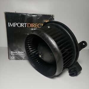 Import Direct PM4055 HVAC Blower Motor Fan Cage Front for Toyota Sienna Sequoia
