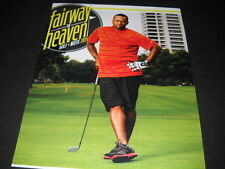 Scarface plays golf on the Fairway to Heaven Promo Poster Ad mint condition