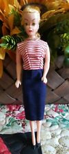 """Vintage Barbie Bild Lilli Clone doll Made in Hong Kong painted shoes & dress 8""""❤"""